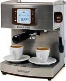 Espressor cafea Zelmer Maestro 1050W 15 Bari 2.1L Inox, Manual