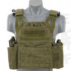Vesta tactica Jump Plate Carrier - Olive [8FIELDS] - Echipament Airsoft