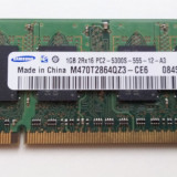 Memorie Laptop Samsung 1GB PC2-5300 DDR2 667MHz - Memorie RAM laptop