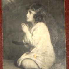 Carte  postala veche   romaneasca , tematica   religioasa