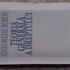 TEORIA GENERALA A DREPTULUI - Carte Teoria dreptului