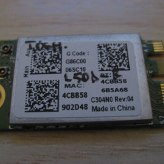 Placa wireless Toshiba Satellite L50D-B, G86C0006SC10, BCM943142Y, C304N0