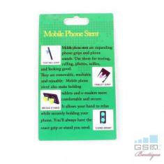 Suport Telefon iPhone Samsung Nokia HTC Stand Cablu Grip Alb - Suport birou