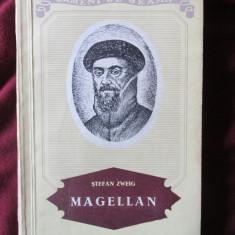 """MAGELLAN. Omul si fapta sa"", Stefan Zweig, 1955. Colectia OAMENI DE SEAMA, Alta editura"