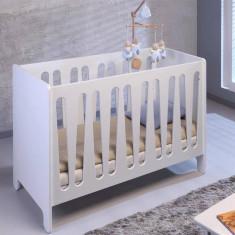 Patut de copii 70x140 - Patut lemn pentru bebelusi, 140x70cm, Alb