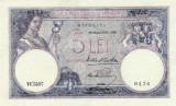 * Bancnota 5 lei 1928 - P