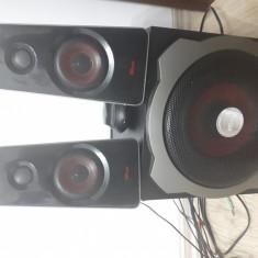 Boxe trust 2.1, ultimate bass, GXT 38 - Boxe PC