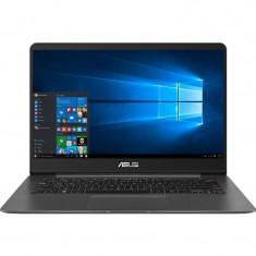 Laptop Asus ZenBook UX430UA-GV340R 14 inch FHD Intel Core i5-8250U 8GB DDR4 256GB SSD Windows 10 Pro Grey Metal