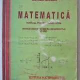 Mircea Ganga Matematica Manual pentru clasa a-x1-a#