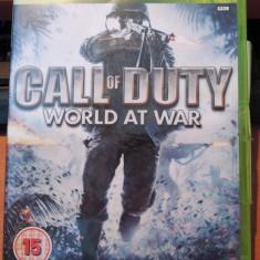 Call of Duty World at War, XBOX360, original! - Jocuri Xbox 360, Shooting, 18+, Single player