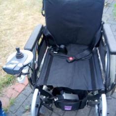 Scaun rulant cu joystick, nefolosit, adus din Germania. USOR NEGOGIABIL - Scaun cu rotile
