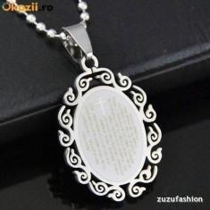Pandantiv Medalion Cruciulita inox + lant inox - Pandantiv fashion
