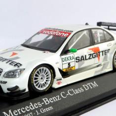 """Minichamps Mercedes C-Class  """"Salzgitter""""  DTM 2007 1:43"""