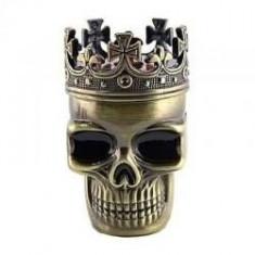 Grinder tutun craniu, Zuzufashion, Material plastic + metal - Tutungerie