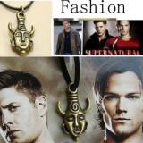Pandantiv / Lantisor / Amuleta Protectie SUPERNATURAL - DEAN WINCHESTER - Pandantiv fashion