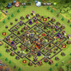 Cont Clash of Clans Th10 - Joc PC Supercell