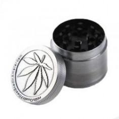 Grinder tutun frunza Marijuana metalic - Tutungerie