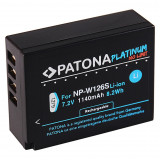 PATONA Platinum | Acumulator tip FUJI NP-W126S NP W126s XT2 pt Grip VPB-XT2, Dedicat
