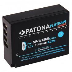 1 PATONA Platinum | Acumulator compatibil FUJI NP-W126S XT2 - Baterie Aparat foto PATONA, Dedicat