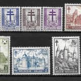 Belgia 1951, Nestampilat