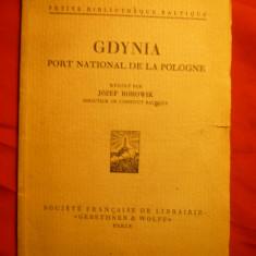 Jozef Borowik - Gdynia -Port National al Poloniei ,interbelica ,lb.franceza