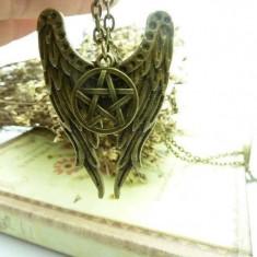 Pandantiv/Medalion Pentagrama Supernatural