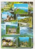 Bnk cp Valea Prahovei - Vedere - uzata - marca fixa, Necirculata, Printata