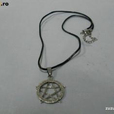 Pandantiv Medalion Pentagrama - Pandantiv fashion