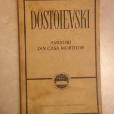 Amintiri din casa mortilor-Dostoievski - Roman
