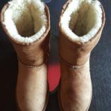 Cizme UGG originale,piele si blana naturala de oaie,nr.39-24,5 cm.