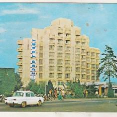 Bnk cp Deva - Hotel Sarmis - uzata - Carte Postala Transilvania dupa 1918, Circulata, Printata