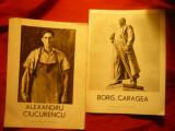 7 Caiete prezentare a 7 mari Artisti Romani : C.Baraschi ,C.Medrea ,Vida Gheza