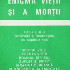 Enigma vietii si a mortii - Aurel Popescu-Balcesti - Carte ezoterism