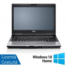 Laptop Refurbished FUJITSU SIEMENS S752, Intel Core i3-3110M 2.40GHz, 4GB DDR3, 320GB SATA, DVD-RW + Windows 10 Home - SSD
