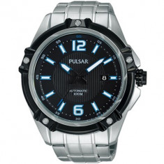 Ceas Pulsar by Seiko automatic - Ceas barbatesc Pulsar, Elegant, Mecanic-Automatic, Otel, Inox, Data