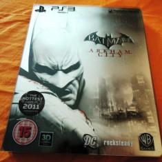 Joc Batman Arkham City Steel Edition, PS3, original, alte sute de jocuri! - Jocuri PS3, Actiune, 16+, Single player