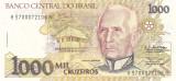 Bancnota Brazilia 1.000 Cruzeiros (1990) - P231a UNC