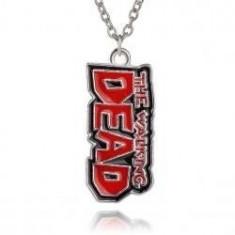 Pandantiv Medalion Lantisor The Walking Dead - Lantisor fashion