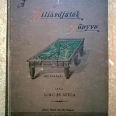 Adorjan Gyula - Biliardjatek Konyve {1896}