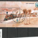 Colita Cuba Expo Vancover, Stampilat