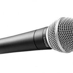 Microfon profesional cu fir, uni-directional, 150 Ohm, metalic, premium