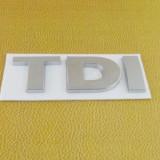 Accesoriu auto TDI metal sticker VW autoadeziv - Embleme auto, Volkswagen