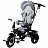 Tricicleta Multifunctionala Little Tiger T400 Gri - Tricicleta copii