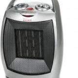 Aeroterma ceramica ZILAN ZLN-6188, Putere 1500W, 2 trepte de reglare temperatura+aer rece, Termostat reglabil, Rezistenta cerami