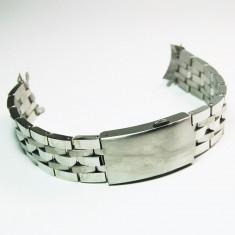 Bratara ceas capete curbate 19mm otel inoxidabil - Curea ceas din metal