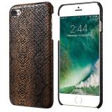 Husa de protectie FLOVEME Premium Snake pentru iPhone 6 / iPhone 6S, Leather Brown - Husa Telefon