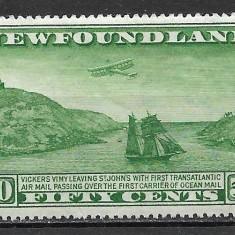 Newfoundland 1931, Nestampilat