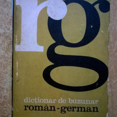 Mihail Isbasescu - Dictionar de buzunar roman-german