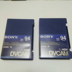 Casete video SONY DVCAM 94/141 minute