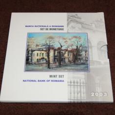 Set de monetarie 2003 - 170 ani de la ridicarea Palatului Sutu - Moneda Romania